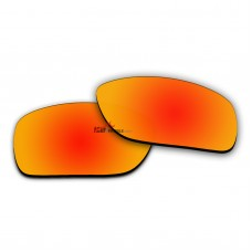 Replacement Polarized Lenses for Oakley CONDUCTOR 8 OO4107 (Fire Red Coating)