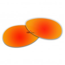 Replacement Polarized Lenses for Oakley Tie Breaker OO4108 (Fire Red Coating)