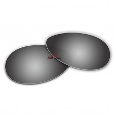 Replacement Polarized Lenses for Oakley Tie Breaker OO4108 (Silver Coating)
