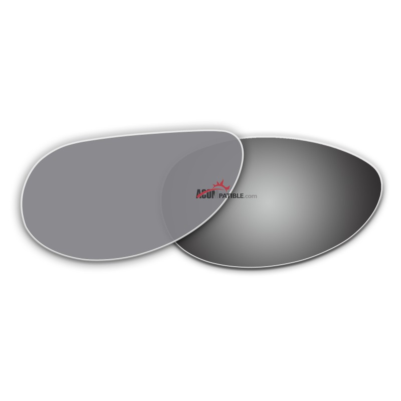aa16f45332a ... Replacement Polarized Lenses for Oakley Feedback OO4079 (Silver Coating)