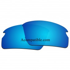Replacement Polarized Lenses for Oakley Flak 2.0 (Asian Fit) OO9271 (Ice Blue Coating)
