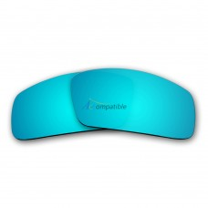 Replacement Polarized Lenses for Oakley Canteen (2006) (Ice Blue Mirror)