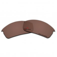 Replacement Polarized Lenses for Oakley Bottle Rocket OO9164 (Bronze Brown)
