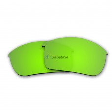 Replacement Polarized Lenses for Oakley Bottle Rocket (Emerald Green)