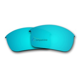 Replacement Polarized Lenses for Oakley Bottle Rocket OO9164 (Ice Blue Mirror)