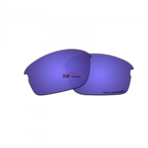 Replacement Polarized Lenses for Oakley Bottle Rocket OO9164 (Purple Coating)