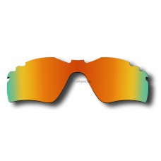Replacement Polarized Lenses for Oakley Radar Path Vented / Radar Path (Asian Fit) Vented / Radar Golf  (Fire Red Mirror)