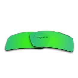 Replacement Lenses for Oakley Eyepatch 2 OO9136 (Emerald Green Mirror)