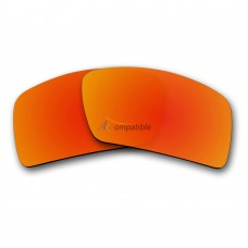 Replacement Polarized Lenses for Oakley Eyepatch 1 (Fire Red Mirror)