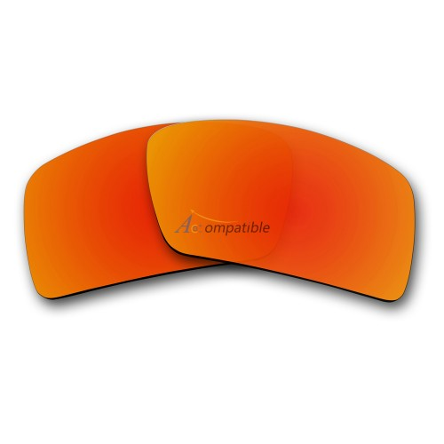 Oakley Eyepatch 1 Polarized Replacement Lenses (Fire Red)