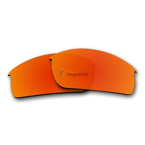 Oakley Bottlecap Polarized Replacement Lenses (Fire Red )