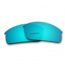 Replacement Polarized Lenses for Oakley Bottlecap (Ice Blue Mirror)