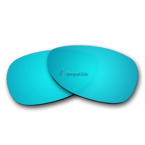Replacement Polarized Lenses for Oakley Dispatch 2 OO9150 (Ice Blue Mirror)