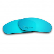Replacement Polarized Lenses for Oakley Blender (Ice Blue Mirror)