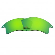 Replacement Polarized Lenses for Oakley Fast Jacket XL (Green Coating Mirror)