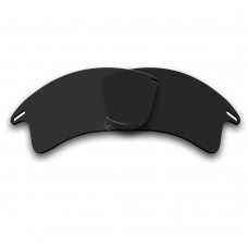 Replacement Polarized Lenses for Oakley Fast Jacket XL (Black)