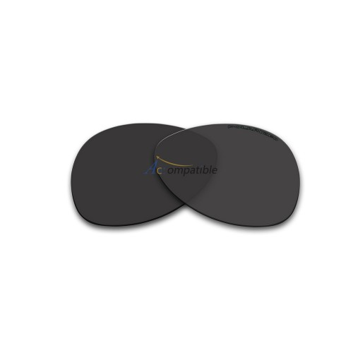 Replacement Polarized Lenses for Oakley Plaintiff (Black)