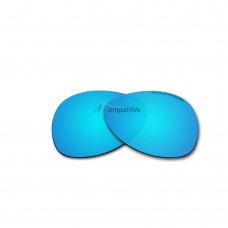Replacement Polarized Lenses for Oakley Plaintiff (Ice Blue Mirror)