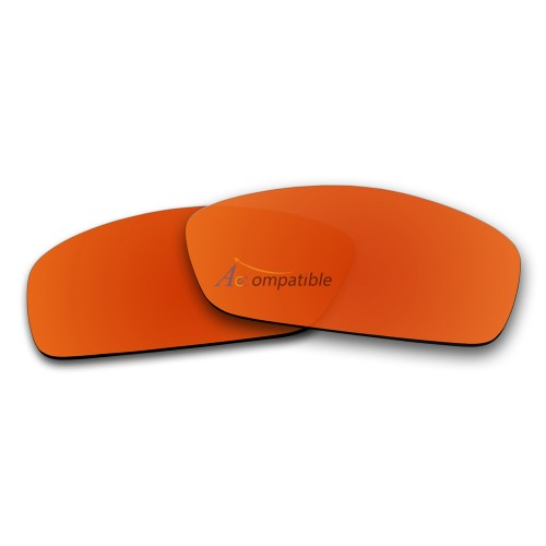 Replacement Polarized Lenses for Oakley Hijinx (Fire Red Mirror)