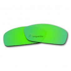 Replacement Polarized Lenses for Oakley Hijinx (Emerald Green Mirror)