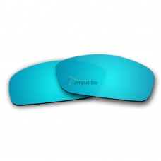 Replacement Polarized Lenses for Oakley Hijinx (Ice Blue Mirror)