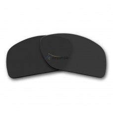 Replacement Polarized Lenses for Oakley Oil Drum (Black)