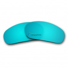 Replacement Polarized Lenses for Oakley Jawbone (Ice Blue Mirror)