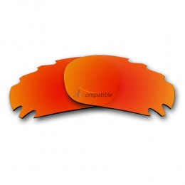 Oakley Jawbone Vented Polarized Replacement Lenses (Fire Red)