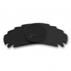 Replacement Polarized Vented Lenses for Oakley Jawbone (Black)