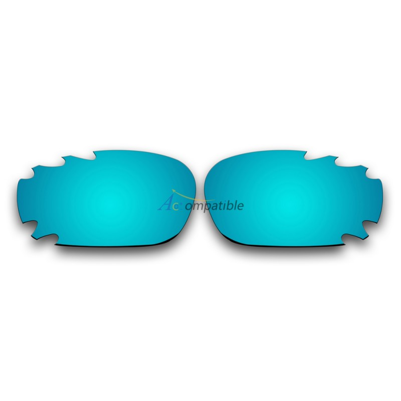eaef6bbc68 ... Replacement Polarized Vented Lenses for Oakley Jawbone (Ice Blue  Mirror) ...