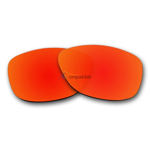 Replacement Polarized Lenses for Oakley Jupiter (Fire Red Mirror)