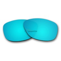 Replacement Polarized Lenses for Oakley Jupiter (Ice Blue Mirror)