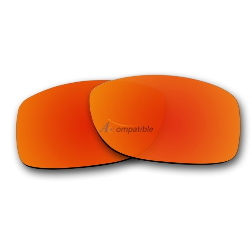 Replacement Lenses for Oakley Jupiter Squared OO9135 (Fire Red Mirror)