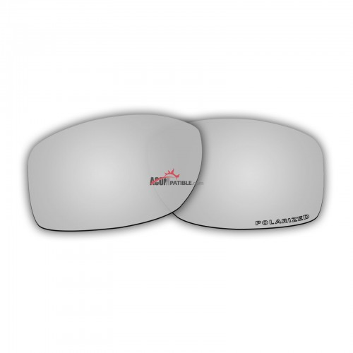 Replacement Polarized Lenses for Oakley Jupiter Squared OO9135 (Silver Mirror)