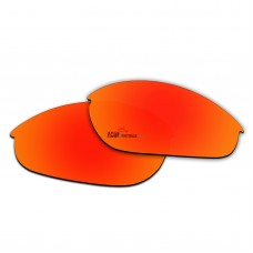 Replacement Polarized Lenses for Oakley Half Jacket (Fire Red Coating)