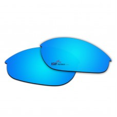 Replacement Polarized Lenses for Oakley Half Jacket (Ice Blue Coating)