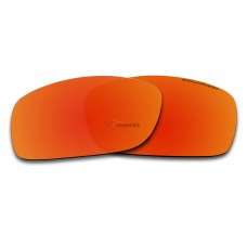 Replacement Polarized Lenses for Oakley Fives 3.0 (Fire Red Mirror)
