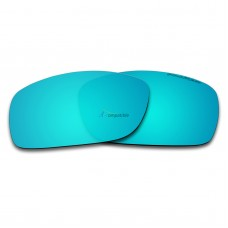 Replacement Polarized Lenses for Oakley Fives 3.0 (Ice Blue Mirror)