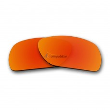 Replacement Polarized Lenses for Oakley Deviation (Fire Red Mirror)