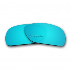 Replacement Polarized Lenses for Oakley Deviation (Ice Blue Mirror)