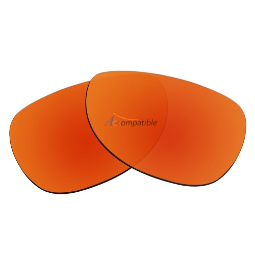 Replacement Polarized Lenses for Oakley Felon (Fire Red Mirror)