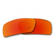 Polarized Lenses for Oakley Gascan Small (S) (Fire Red Mirror)