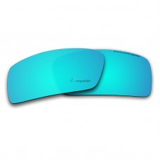 Replacement Polarized Lenses for Oakley Gascan Small (S) (Ice Blue Mirror)