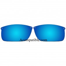 Replacement Polarized Lenses for Oakley Carbon Blade OO9174 (Blue Color)
