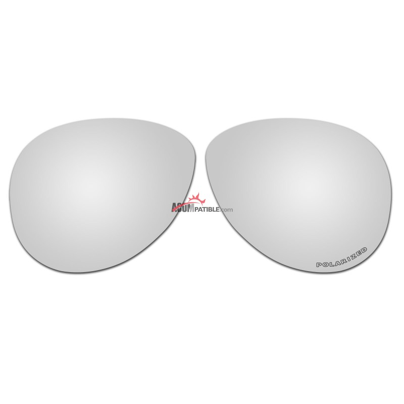 9e6564a840 Replacement Polarized Lenses for Oakley Caveat OO4054 (Silver Mirror) ...
