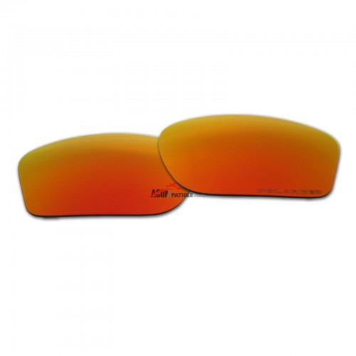 Replacement Polarized Lenses for Oakley Chainlink OO9247 (Fire Red Mirror)