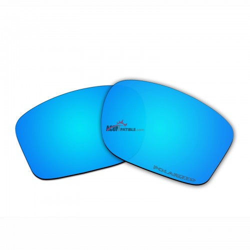 Replacement Polarized Lenses for Oakley Chainlink OO9247 (Blue)
