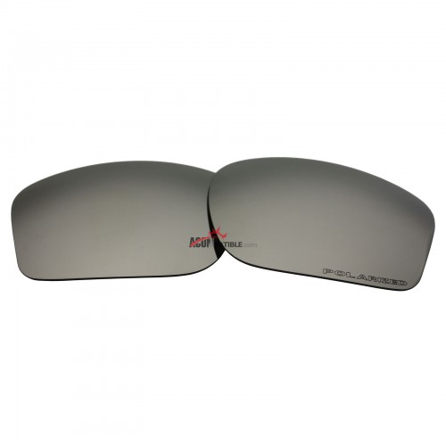 Replacement Polarized Lenses for Oakley Chainlink OO9247 (Silver Coating Mirror)