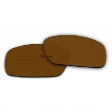 Replacement Polarized Lenses for Oakley Crankshaft OO9239 (Brown Mirror)