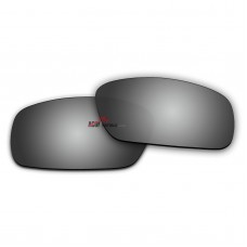 Replacement Polarized Lenses for Oakley Crankshaft OO9239 (Silver Mirror)